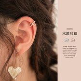 限量現貨◆PUFII-耳環 無限符號水鑽耳扣(單個)- 0716 現+預 夏【CP18887】
