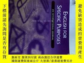 二手書博民逛書店English罕見for Specific Purposes (Magazine) 04 2017專業英語雜誌