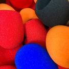 (現貨/黑紅藍橘)麥克風衛生海綿套 麥克風海棉套(正常品下單處)