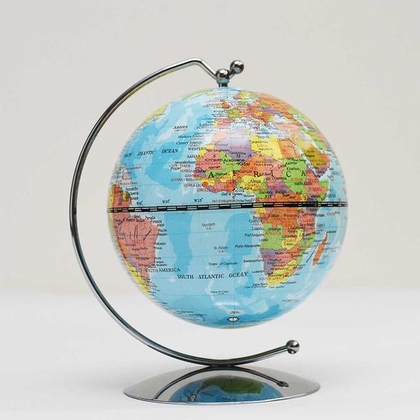 SkyGlobe 3.75吋行政線弧地球儀(英文版)