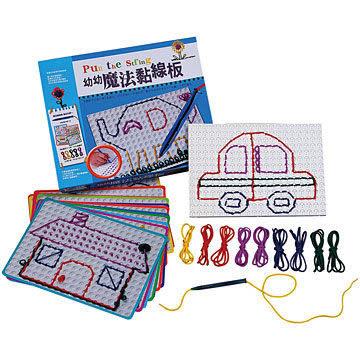 幼幼魔法黏線板  兒童教育玩具 (購潮8)