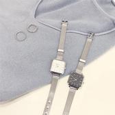 方形手錶chic簡約泫雅風手錶女氣質防水ins復古潮流時尚文藝方形女款大氣 玩趣3C
