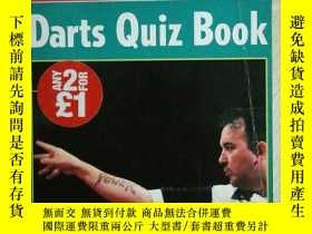 二手書博民逛書店The罕見Sun Darts Quiz BookY24069