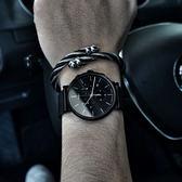 TIMEX 天美時/ TXTW2R27300 / INDIGLO 美國迷人魅力指標米蘭編織手錶 鍍黑 41mm