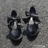 娃娃鞋 日繫軟妹洛麗塔lolita牛津底休閒娃娃鞋圓頭學生蝴蝶結女單鞋  新年下殺