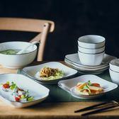碗碟套裝 家用4人網紅組合陶瓷ins新款餐具盤子日式吃飯碗筷碗盤【完美3c館】