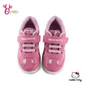 Hello kitty 凱蒂貓 中童 運動鞋 慢跑鞋 MIT 台灣製 H7852#桃紅◆OSOME奧森鞋業