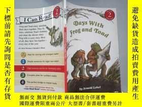 二手書博民逛書店Days罕見with Frog and ToadY198833 Arnold Lobel(阿諾德·羅貝爾)