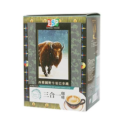 西雅圖即溶三合一咖啡-野牛曼巴拿鐵20g*18          入【愛買】