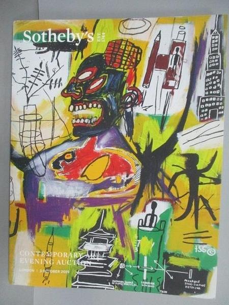 【書寶二手書T2/收藏_E1M】Sotheby s_Contemporary Art Evening Auction_2