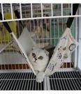 貓吊床貓咪吊床貓睡袋寵物鐵籠吊床貓沙發貓...