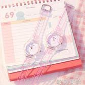 手錶韓版簡約可愛女初中學生ins原宿學院風小清新粉色少女心日系 檸檬衣舍