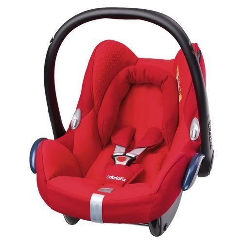 『121婦嬰用品館』Maxi-Cosi Cabriofix 提籃汽座(頂級款)紅