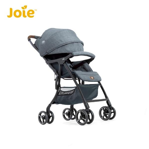 奇哥 Joie fluri™ drift 橫輕巧x磁吸扣手推車-灰藍色