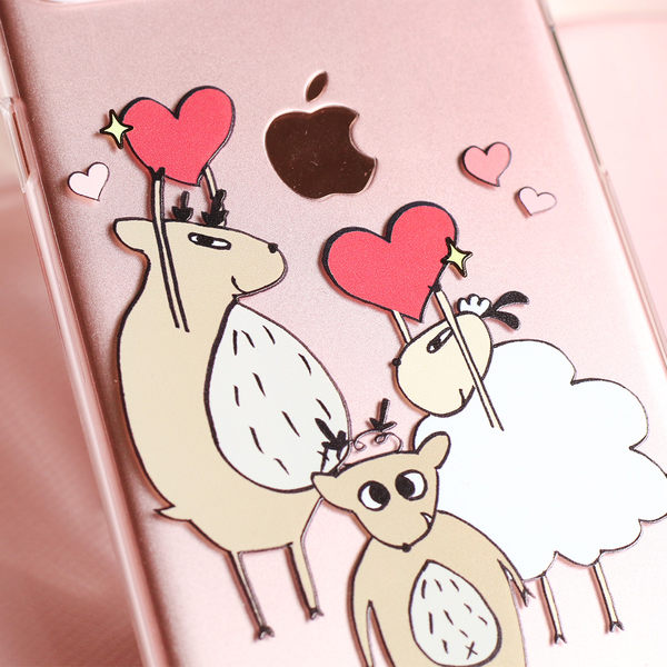 iPhone7 / iPhone8 手機殼 4.7吋【Mr. Elk 一下迷路一下暴走-LOVE 】- 迷路 X WaKase