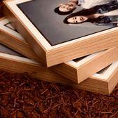 現代簡約婚紗照擺臺相框韓式創意結婚照水晶桌擺寶寶照81012寸