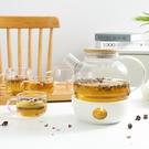 北歐耐熱玻璃花茶壺