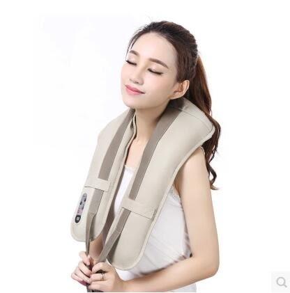 易健仕頸肩樂捶打頸椎按摩器頸部腰背部按摩器敲打按摩披肩加熱igo『潮流世家』