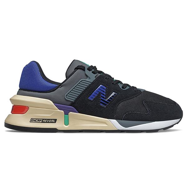 New Balance 997 男鞋 休閒 復古 ABZORB ENCAP REVEAL 黑 藍【運動世界】MS997JEC