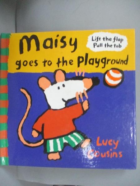 【書寶二手書T8/少年童書_HLF】Maisy Goes to the Playground_Lucy Cousins