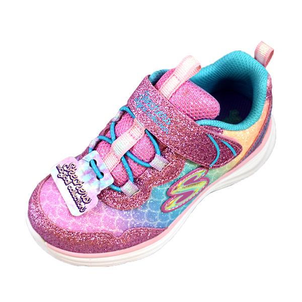 (AZ) SKECHERS 女童 運動鞋 休閒鞋 GLIMMER KICKS 81444NLPMT [陽光樂活]