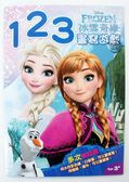 【金玉堂文具】Disney迪士尼 冰雪奇緣Frozen 幼兒運筆練習描寫本/123書寫遊戲 4048-3