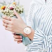 手表女學生防水百搭韓版簡約網帶 帆布手表43
