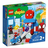 LEGO 樂高 得寶英雄系列-蜘蛛人總部_LG10940