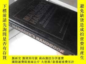 二手書博民逛書店The罕見Manager s Handbook【32開精裝 英文