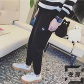 束腳褲男休閒褲長褲運動褲褲子韓版哈倫衛褲【左岸男裝】