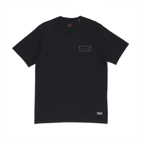Levis 男款 短袖T恤 / 滑版系列 / 簡約Logo / 黑