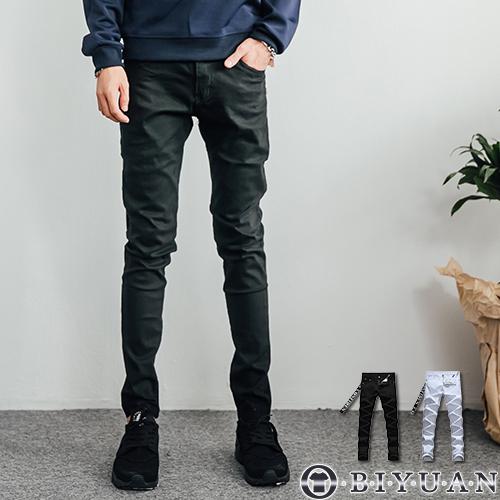 出清不退換 【JN4099】素面 彈性牛仔褲 韓版 單寧長褲 OBIYUAN