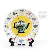 HONEY COMB 午茶時光陶瓷盤飾座鐘 GA44