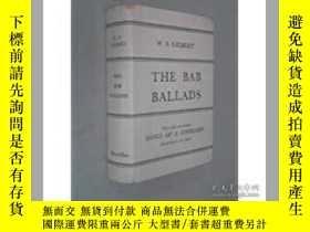 二手書博民逛書店The罕見Bab Ballads: Songs of a Sav