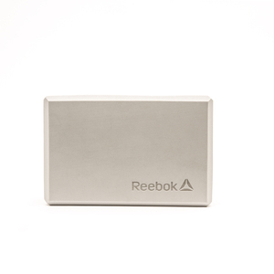 Reebok-高密度專業瑜珈磚(灰白)
