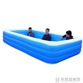 游泳池兒童充氣加厚寶寶家用嬰兒游泳桶bb超大號戶外大型小孩浴缸 NMS 快意購物網