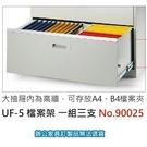 理想櫃 衣物櫃 卷宗櫃 隔間櫃 UF-5 檔案架 3支/組