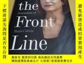 二手書博民逛書店On罕見the Front : The Collected Journalism of Marie Colvin奇