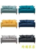 沙發 沙發小戶型客廳現代簡約雙人三人北歐簡易出租房服裝店網紅款 【免運】