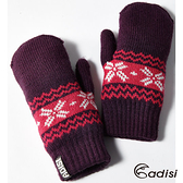 ADISI 兒童美麗諾針織保暖手套AS12079/城市綠洲專賣(圍巾手套.防風手套)
