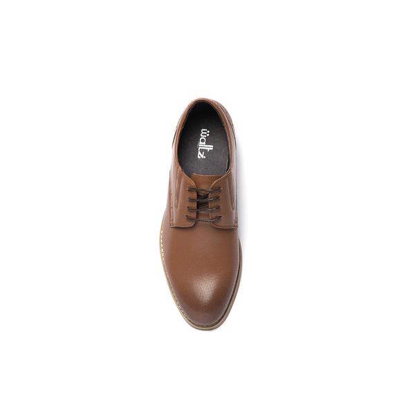 Waltz-經典沖孔壓花牛皮紳士鞋612037-06棕