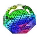 水晶玻璃煙灰缸 時尚精品歐式實用 亞斯藍