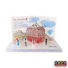 【收藏天地】遊台灣立體明信片*西門紅樓∕ 送禮 旅遊紀念