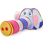 童帳篷游戲屋室內寶寶隧道玩具爬行筒小女孩公主房子過家家用~ 85 折~