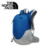 【The North Face 24L 輕量多功能背包 藍/灰】 NF00CWU1/輕量背包/後背包/背包