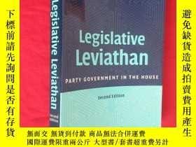 二手書博民逛書店Legislative罕見Leviathan: Party Government in the House (Se