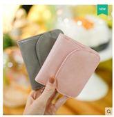 女短款新款日韓版兩折疊簡約小清新超薄皮夾LYH2450【大尺碼女王】