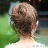 蓬松章魚髮包丸子頭凌亂古裝頭飾花苞頭新娘捲直髮包盤髮假髮髮圈 雙十一全館免運