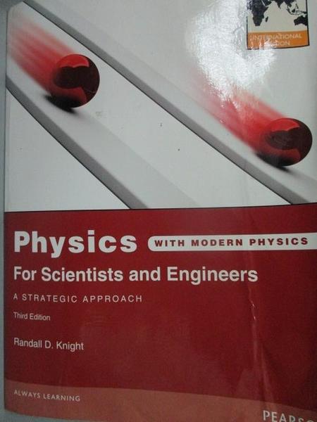 【書寶二手書T5/大學理工醫_WEQ】Physics for Scientists and Engineer…_Rand