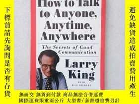 二手書博民逛書店how罕見to talk to anyone anytime anywhere(英文原版)Y11016 Lar